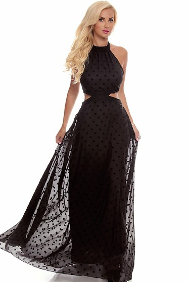 black maxi dress,long maxi dress