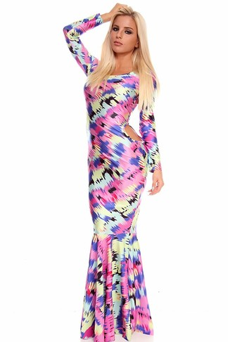 mermaid maxi dress,long maxi dress,sexy maxi dress,long sleeve maxi dress