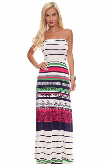 strapless maxi dress,long maxi dress