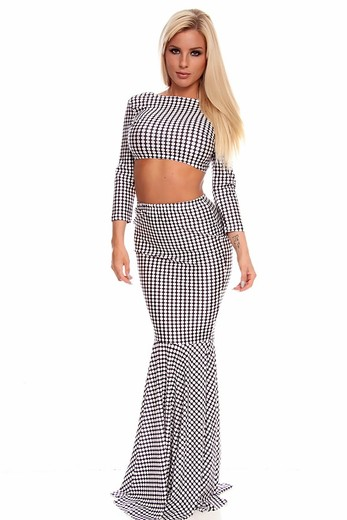 sexy dress,two piece maxi dress,2 piece maxi dress