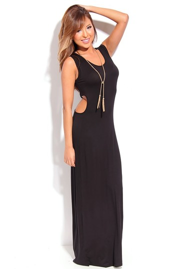 maxi dress,long maxi dress,sexy maxi dress,black maxi dress,sleeveless maxi dress
