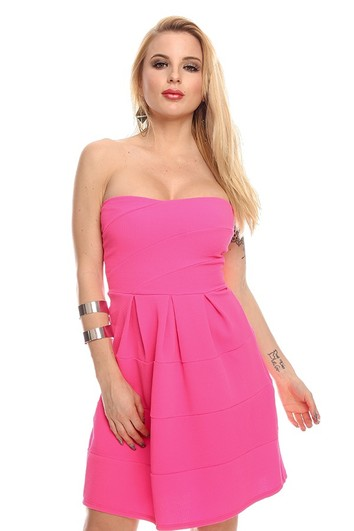 sexy party dress,strapless party dress,sexy dress